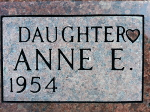 engraving at calvary cemetery